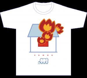 Tシャツ_家